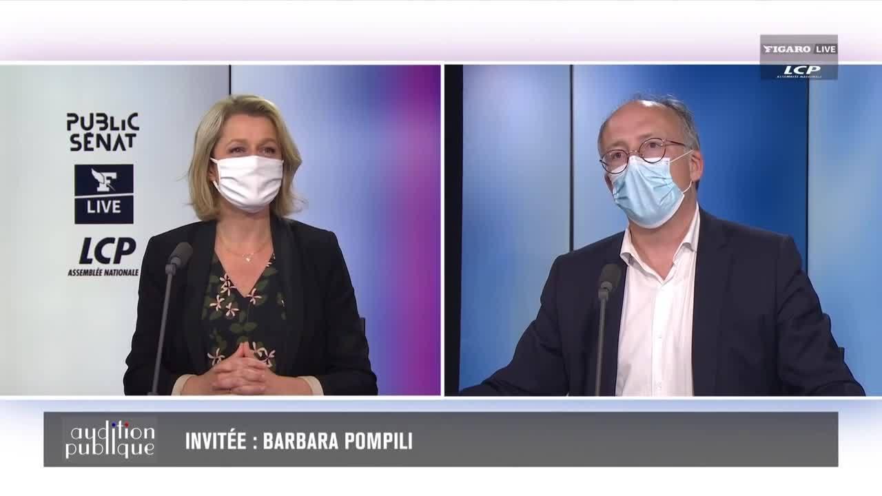 Barbara Pompili répond aux questions d'Yves Thréard dans Audition Publique