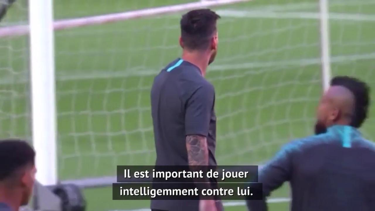 Quarts - Flick : Ce n'est pas seulement le Bayern contre Lionel Messi