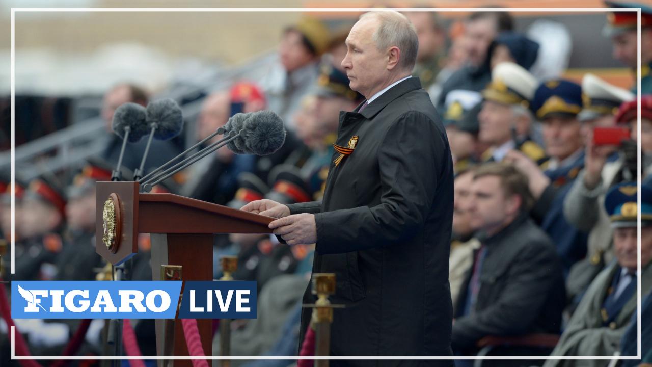 Lors des commémorations du 9 mai, Vladimir Poutine assure que la Russie défendra «fermement les intérêts nationaux»