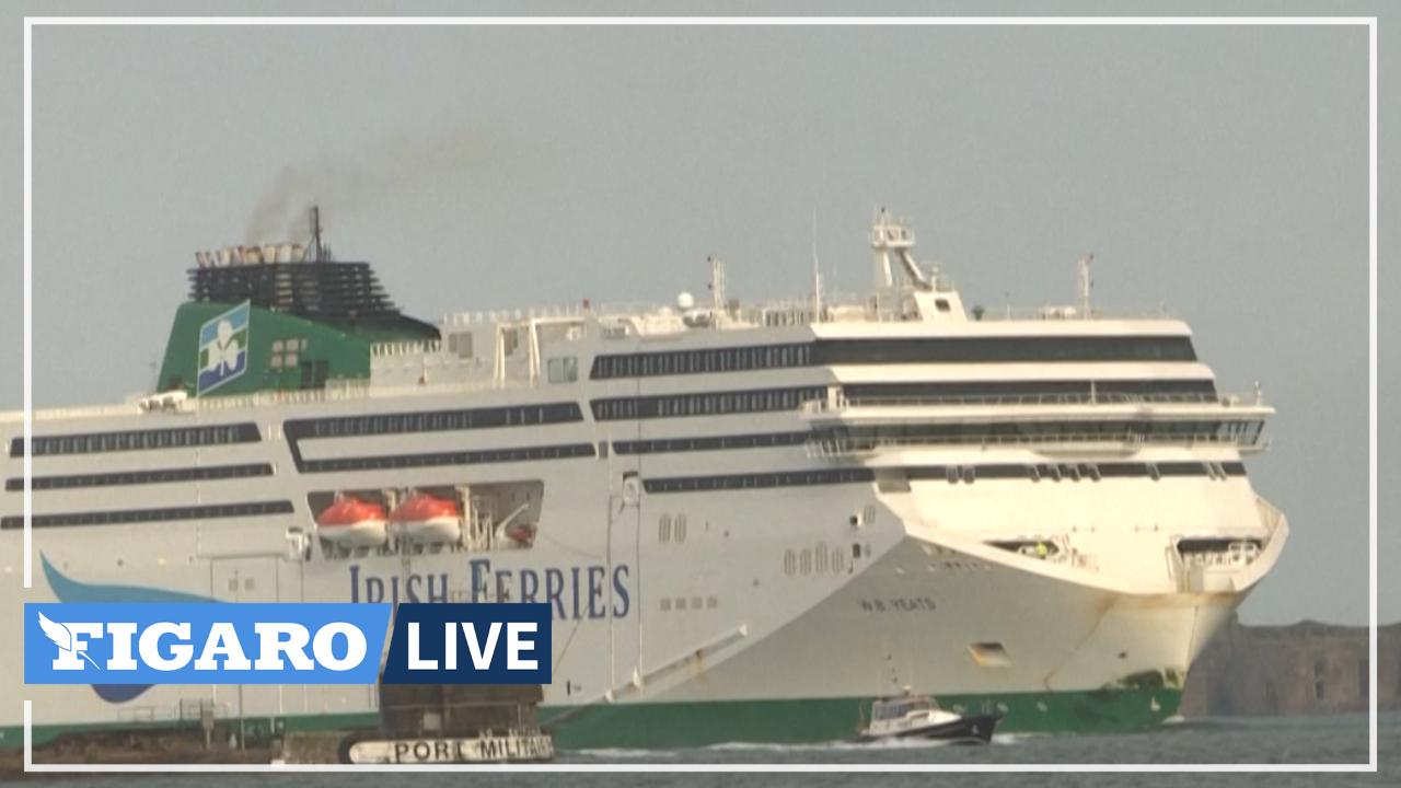Grâce au Brexit, le port de Cherbourg triple son activité fret à destination de l'Irlande