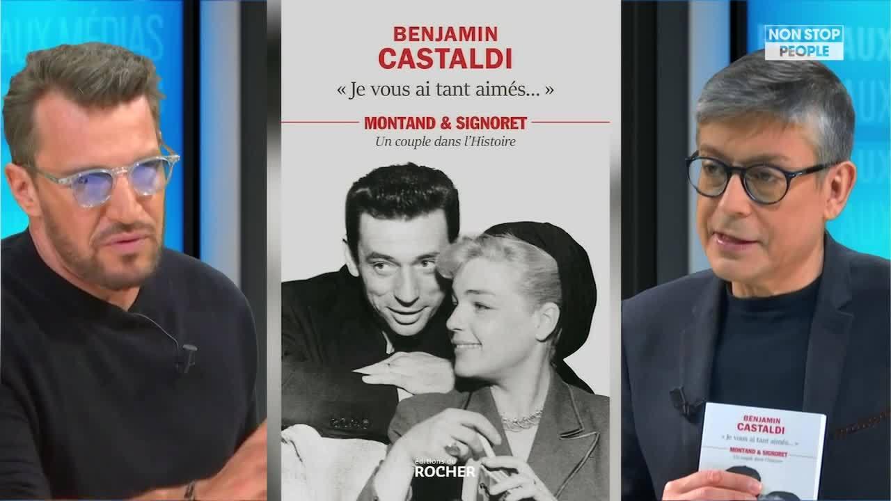 Non Stop People - Yves Montand : son fils Valentin papa et marié ? Les révélations de Benjamin Castaldi (Exclu vidéo)