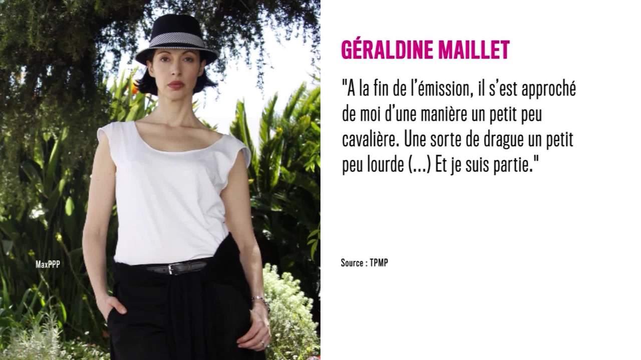 Non Stop People - Patrick Poivre d'Arvor : Géraldine Maillet révèle avoir été draguée lourdement par le journaliste