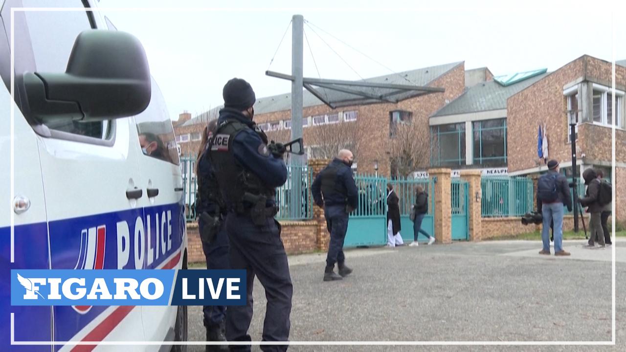 Trappes: «La menace de mort c'est impardonnable», réagissent les élèves du lycée du professeur de philo