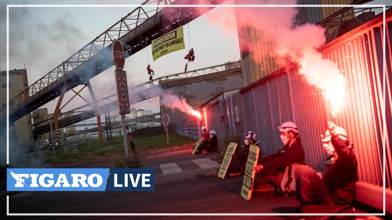 Saint-Nazaire: des militants de Greenpeace bloquent un entrepôt du port pour dénoncer l'importation de soja en France