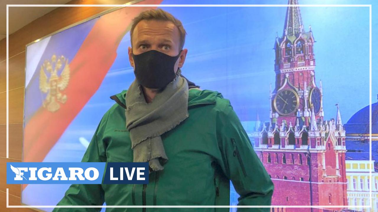 «C'est l'illégalité la plus totale»: l'opposant russe Alexeï Navalny réagit à son arrestation