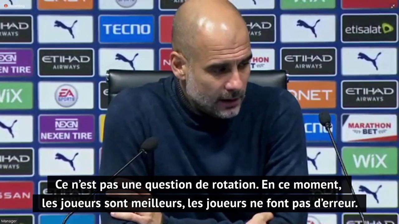 10e j. - Guardiola : Mahrez en bonne forme, Jesus et Sterling doivent marquer plus