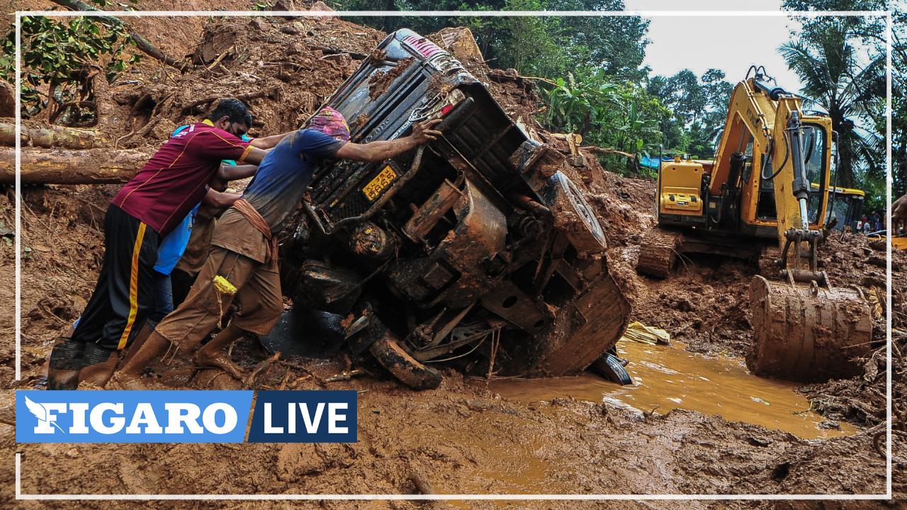 D'importants dégâts et des disparus après des pluies torrentielles et des glissements de terrain en Inde