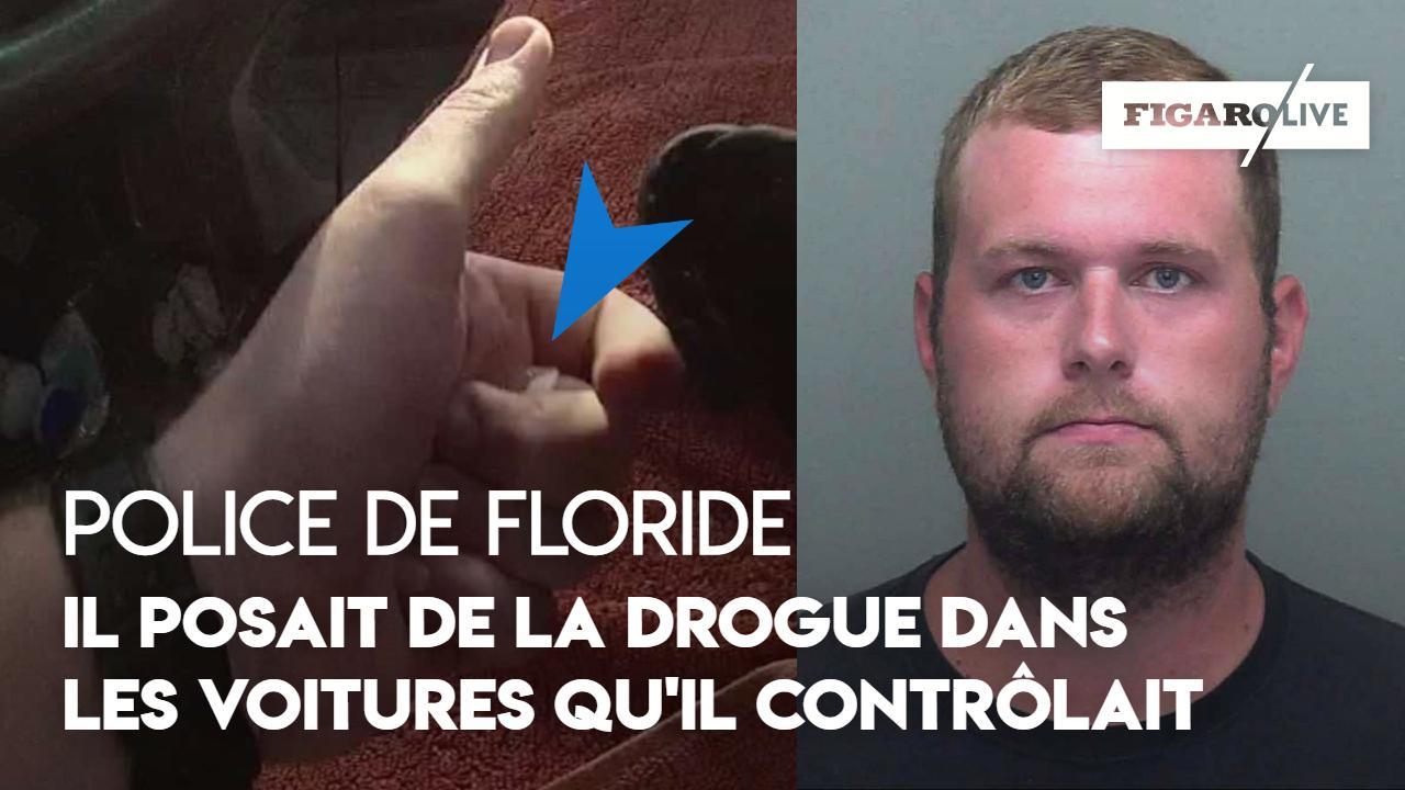 Floride : un policier soupçonné d'avoir placé de la drogue dans des voitures qu'il contrôlait