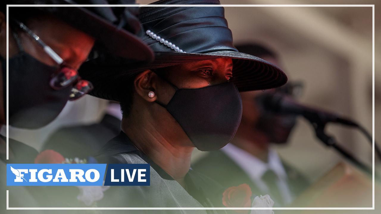 «La famille vit des jours noirs», confie la première dame d'Haïti lors des funérailles de Jovenel Moïse