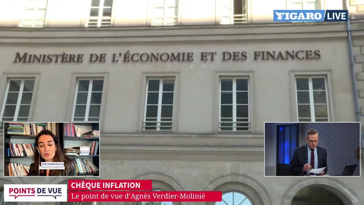 Chèque inflation: le point de vue d'Agnès Verdier-Molinié