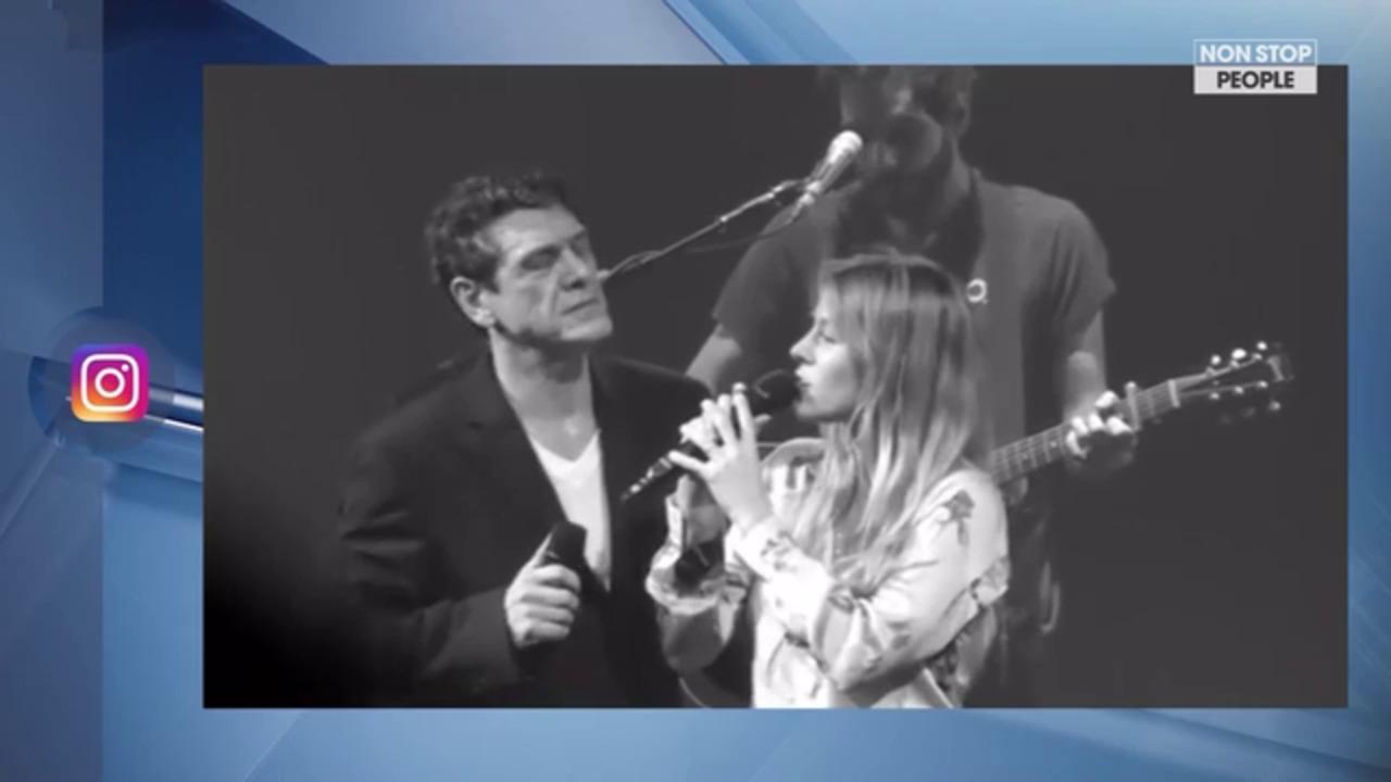 Non Stop People - Marc Lavoine : Les tendres confidences de sa fille sur sa carrière