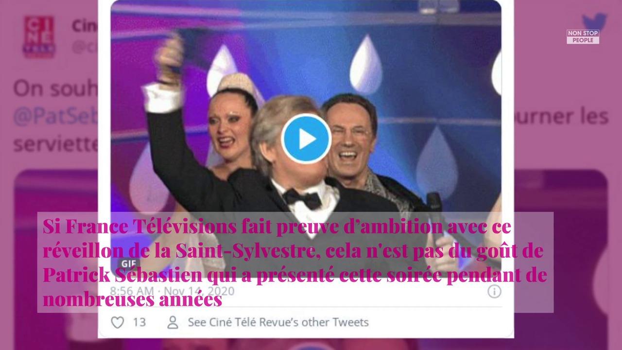 Non Stop People - Patrick Sébastien fustige le réveillon à Versailles de France 2