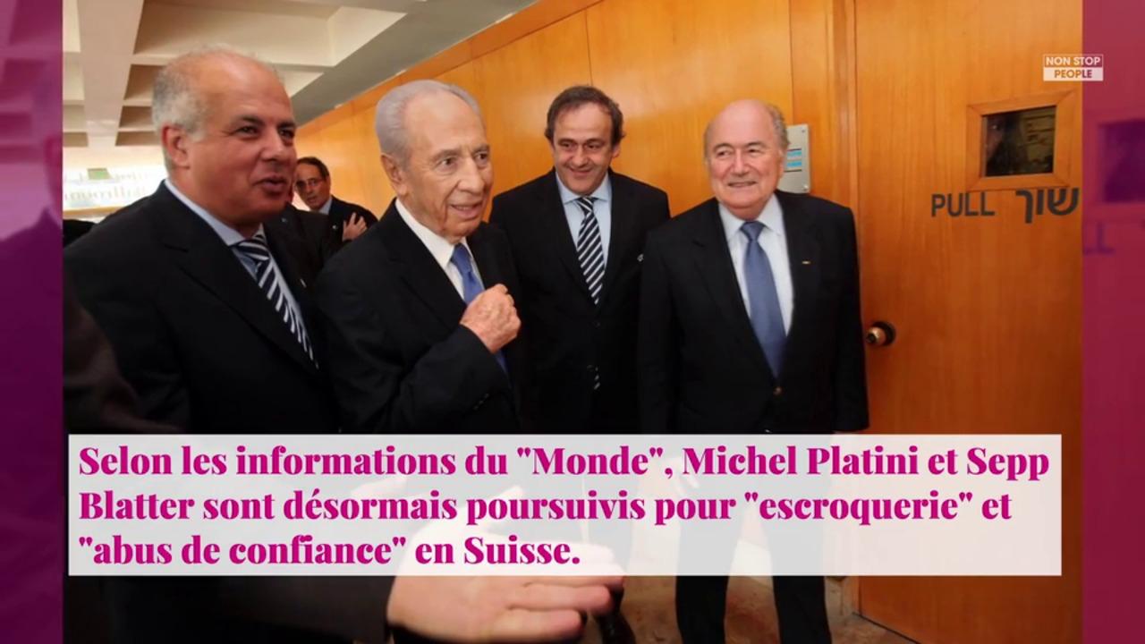 Non Stop People - Michel Platini et Sepp Blatter poursuivis pour escroquerie en Suisse