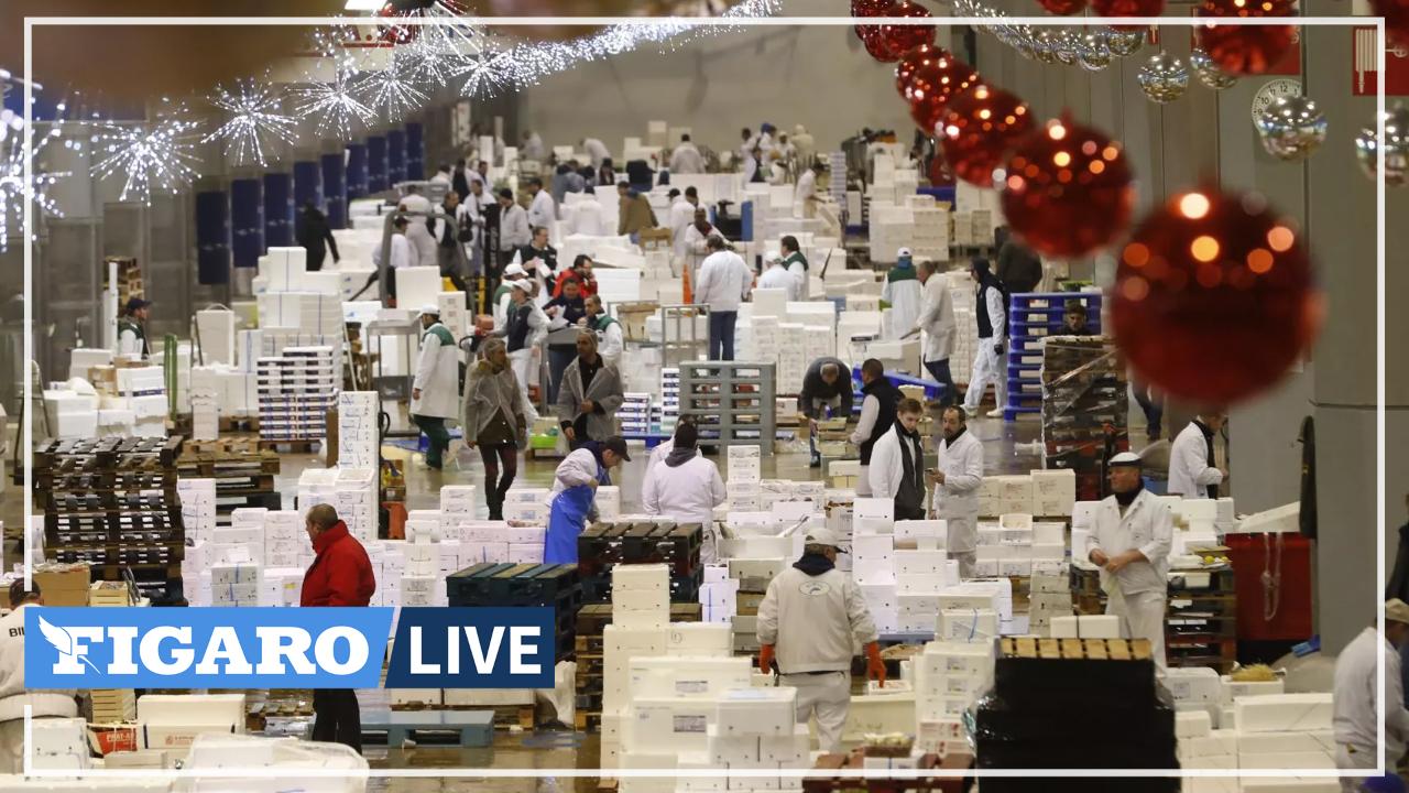 «On a une semaine d'avance sur les ventes de sapin!»: le marché de Rungis très optimiste pour les fêtes