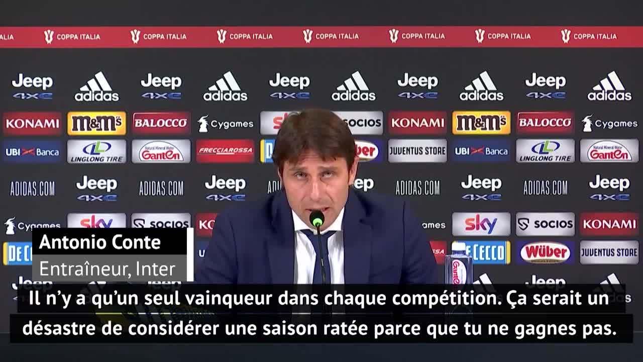 Demies - Pirlo satisfait de la qualif' en finale, Conte reste positif