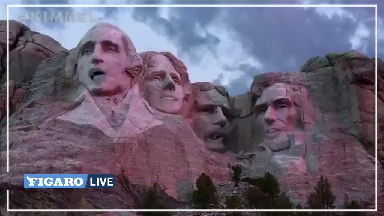 Etats-Unis : la vidéo parodique sur le départ de Trump qui fait fureur