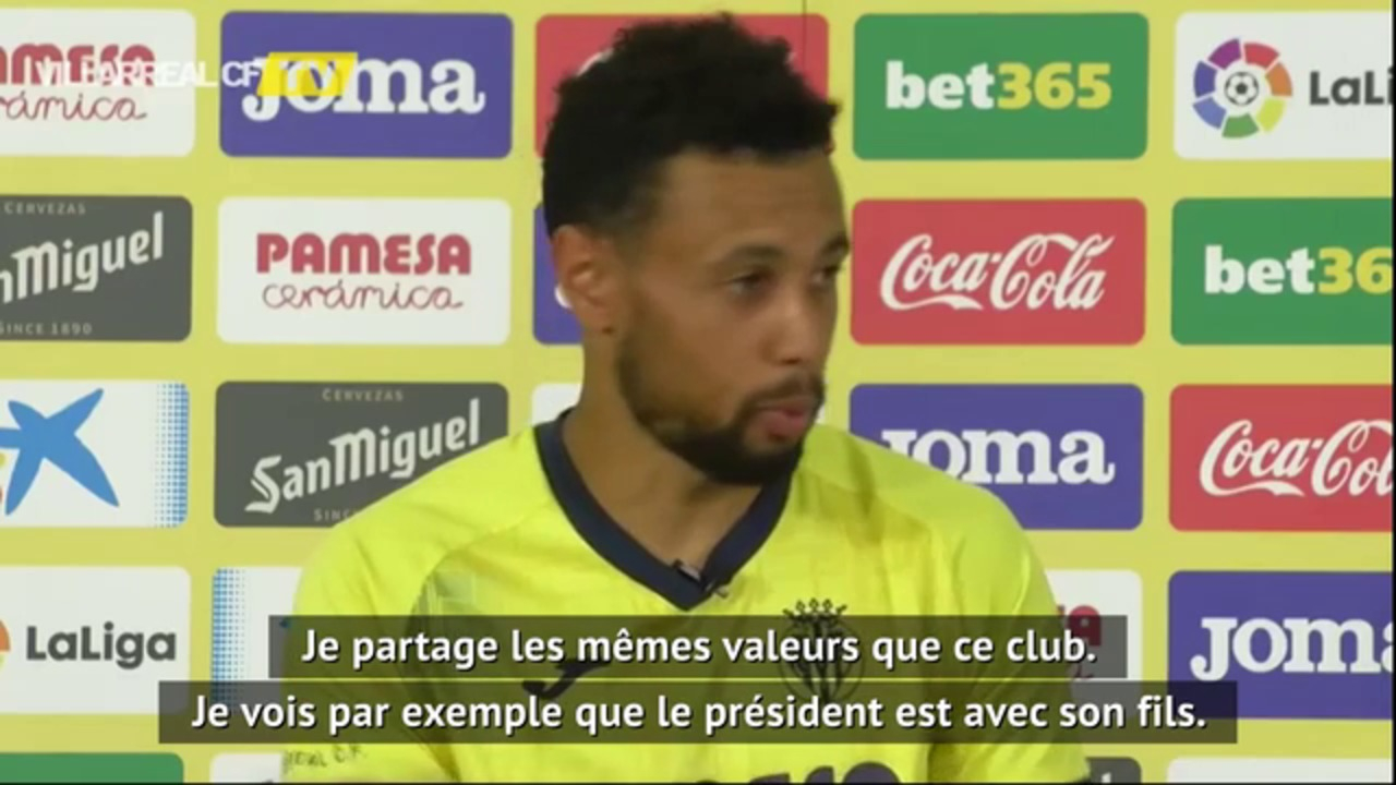 Villarreal - Coquelin : Je partage les mêmes valeurs que ce club