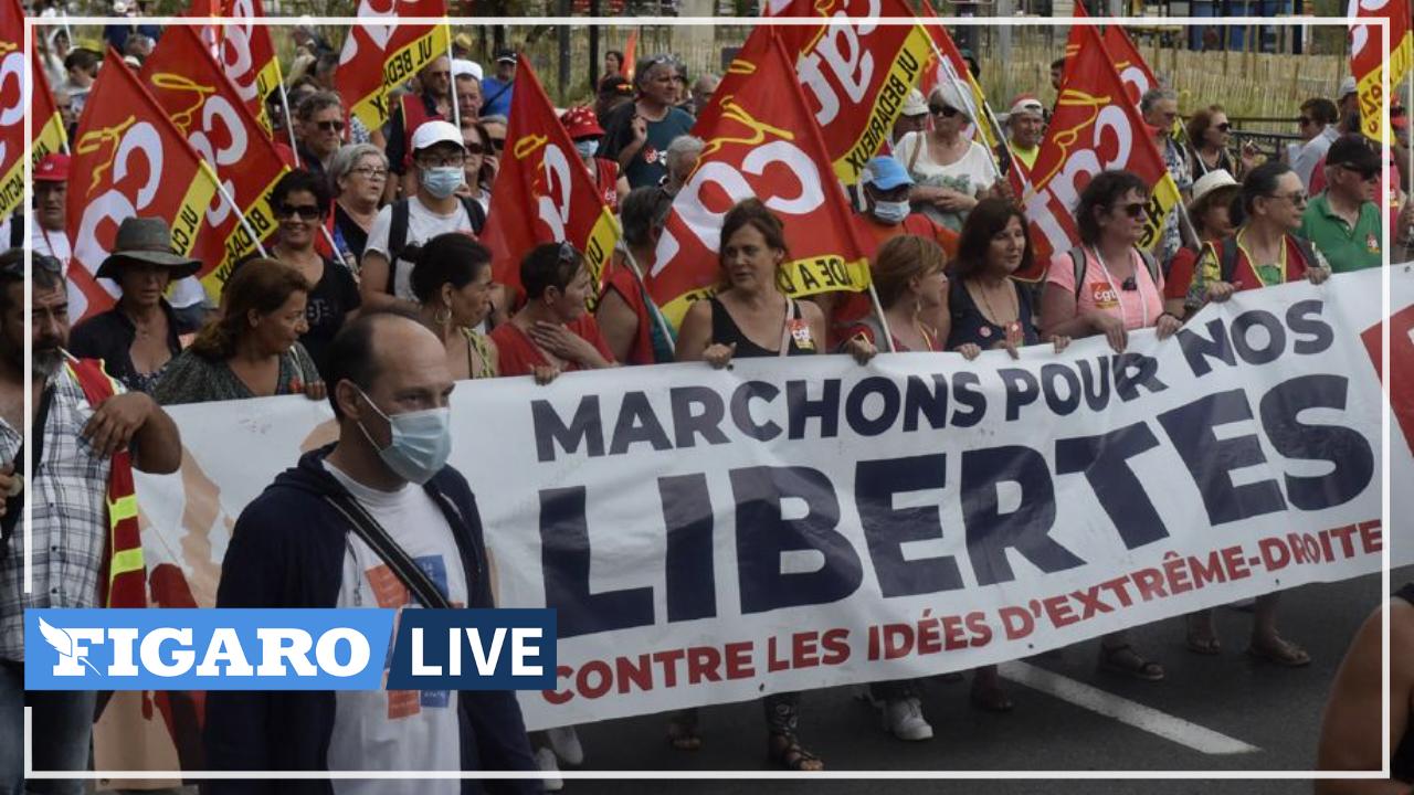 À Perpignan, plusieurs centaines de personnes mobilisées contre le Rassemblement National