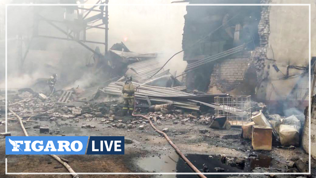 Russie: incendie dans une usine d'explosifs dans un village à 300km de Moscou