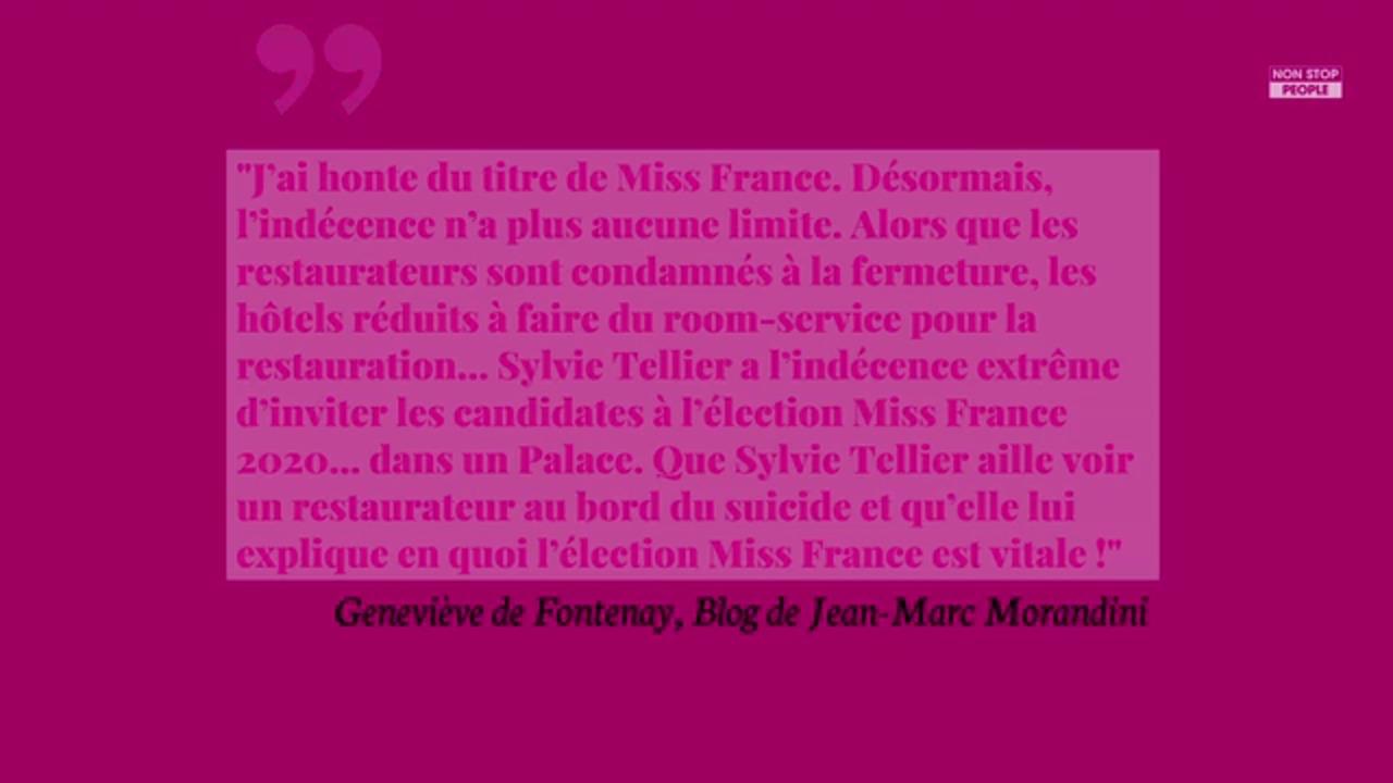 Non Stop People - Miss France 2021 : Geneviève de Fontenay présente ? Elodie Gossuin a tenté de la convaincre