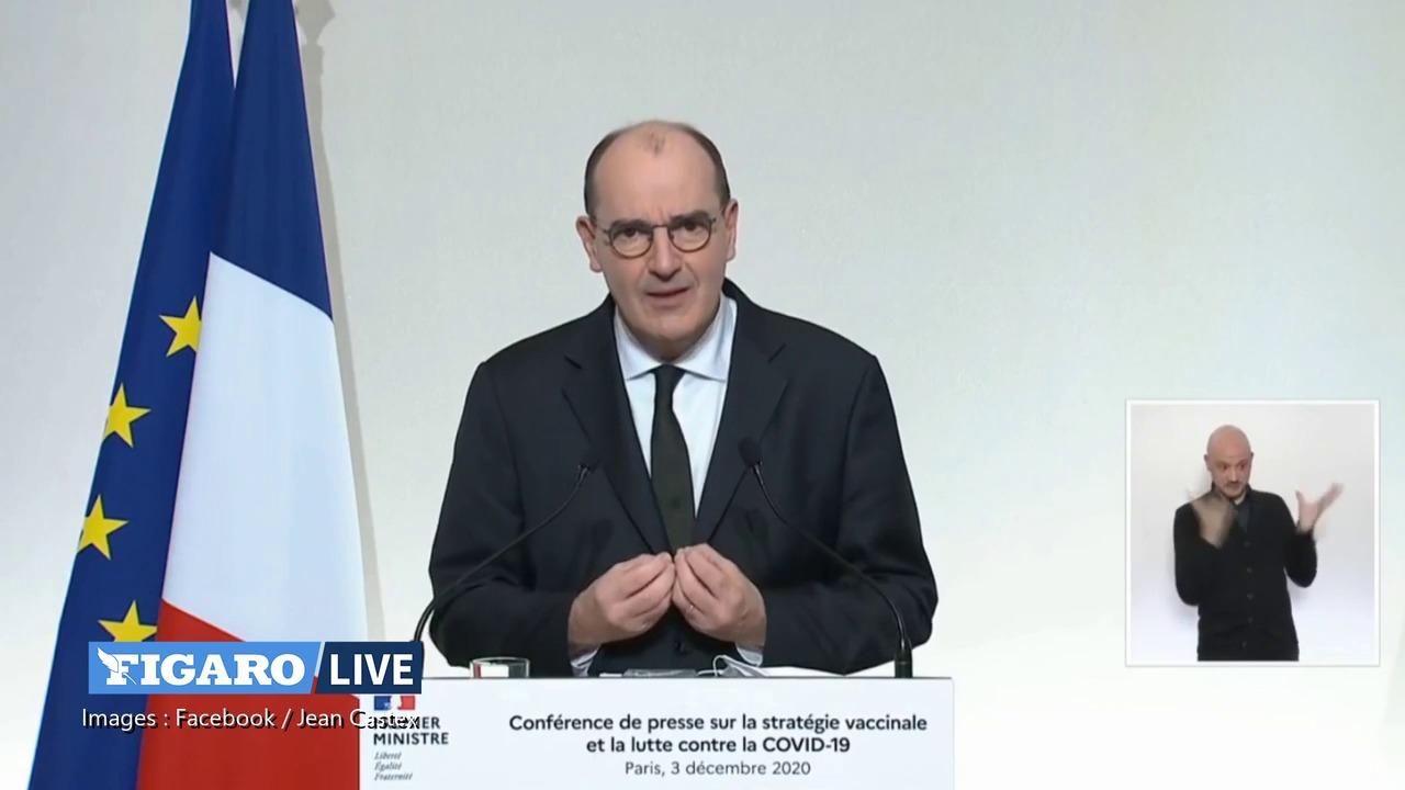 «On va entamer la campagne un an après l'apparition du Covid-19», se félicite Jean Castex
