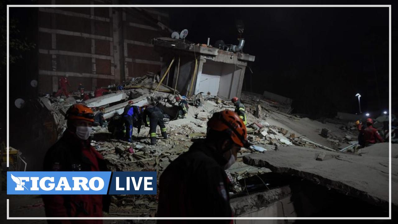 Turquie: une équipe de sauvetage sort une femme d'un immeuble effondré à Izmir