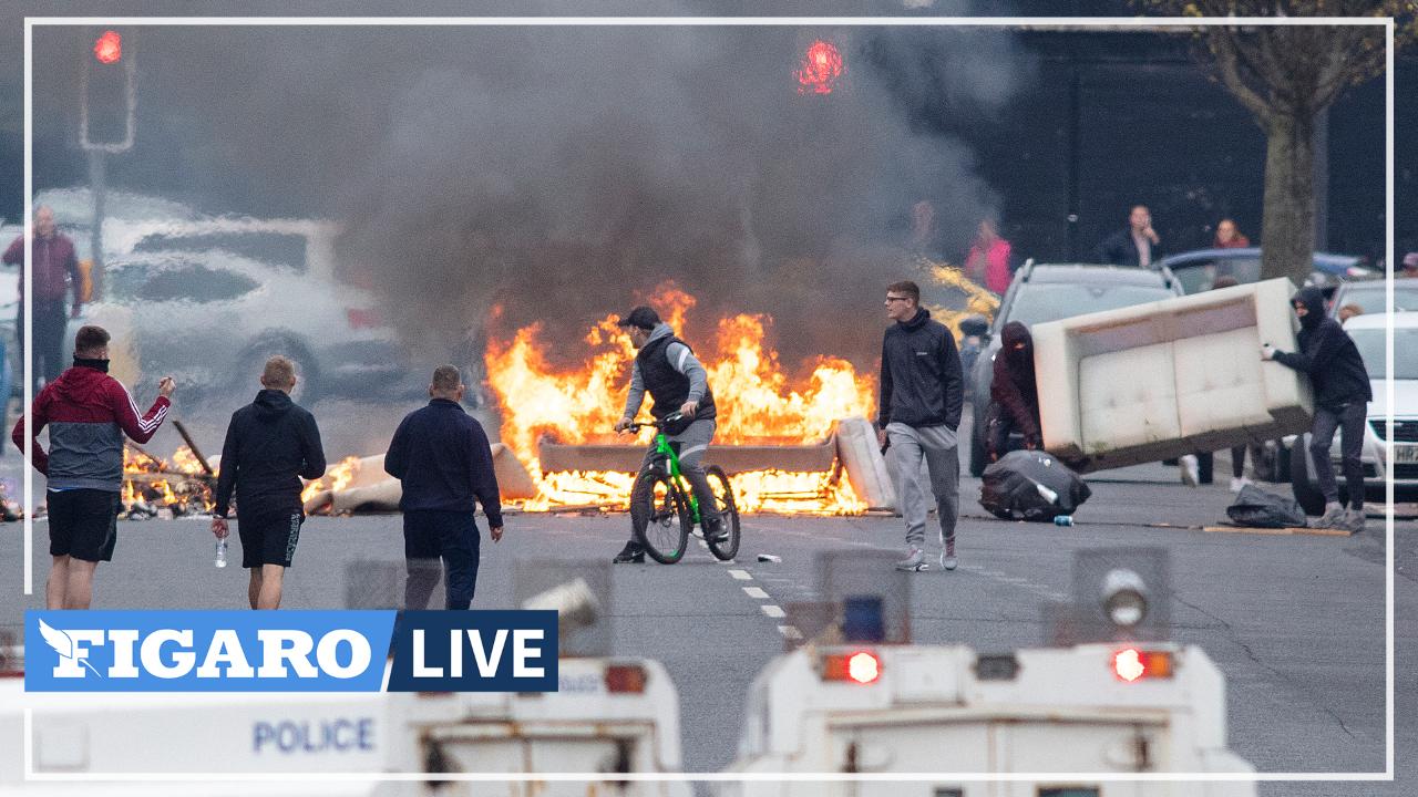 Irlande du Nord: des heurts après des manifestations liées au Brexit