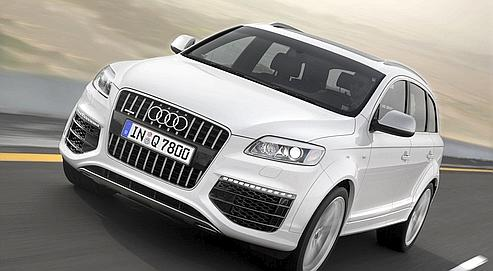 audi q7 v12 tdi le 4 4 de tous les records. Black Bedroom Furniture Sets. Home Design Ideas