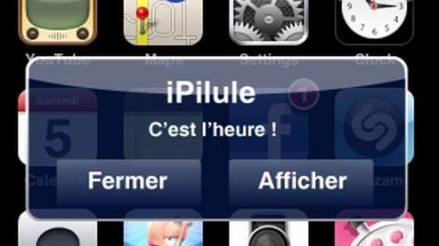 une application iphone pour ne plus oublier sa pilule. Black Bedroom Furniture Sets. Home Design Ideas