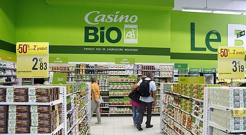 Geant casino produits bio