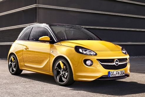 opel adam la mini a du style. Black Bedroom Furniture Sets. Home Design Ideas