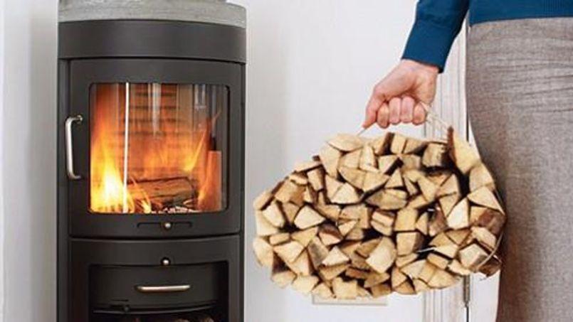les fran ais craquent pour le chauffage au bois. Black Bedroom Furniture Sets. Home Design Ideas