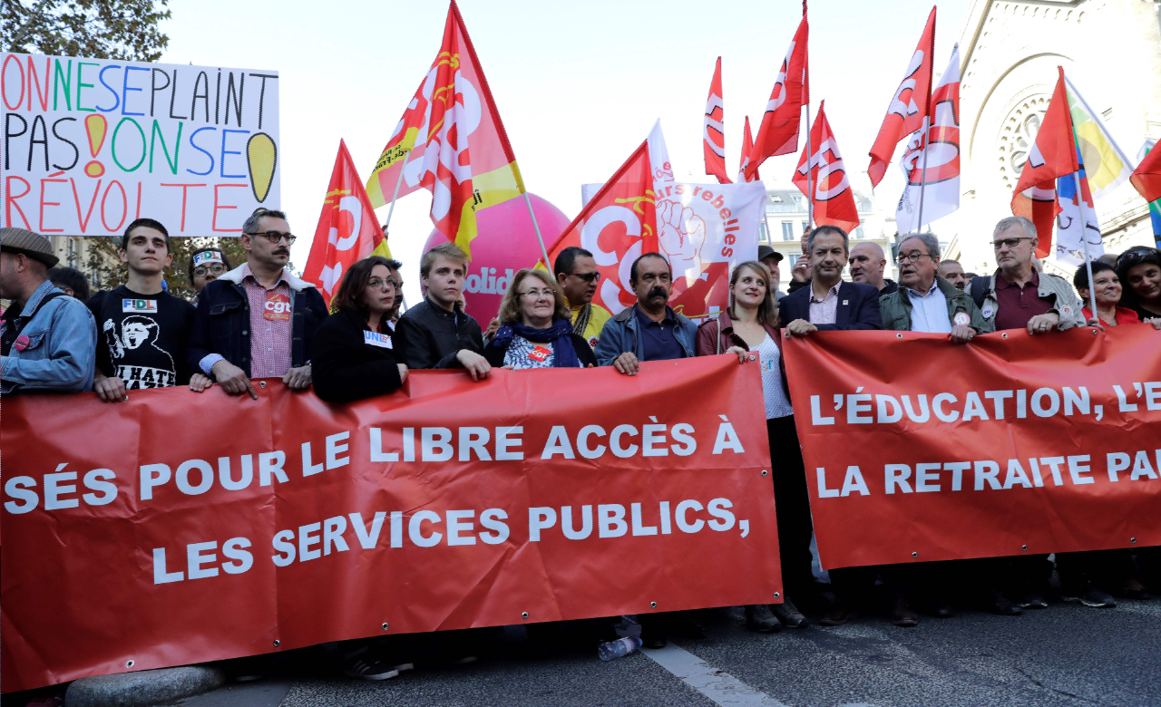 7ff242de2f3 EN DIRECT - 21.500 manifestants à Paris pour défendre le