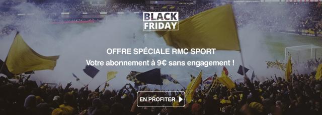 Black Friday RMC SPORT 2018 : tous les bons plans, offres et promos