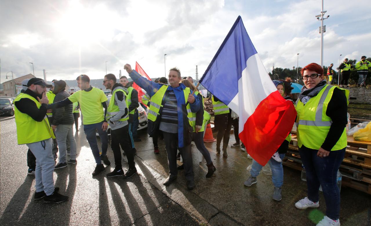 b367f7b407e «Gilets jaunes»   la manifestation de samedi autorisée au Champ-de-Mars à  Paris