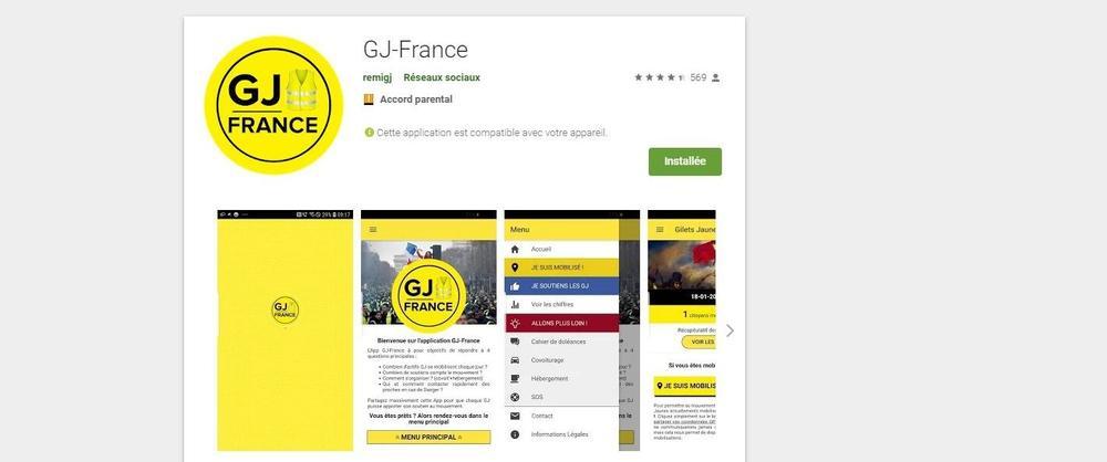 Une application populaire auprès des «gilets jaunes» victime d'une faille de sécurité