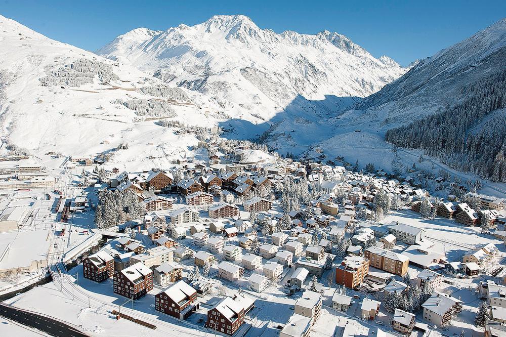 Suisse: la renaissance d'Andermatt