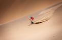 Quand Luc Alphand skie dans le désert de Gobi