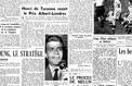 Avril 1951 : Henri de Turenne, reporter de guerre témoigne