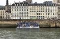 Le radeau de Lampeduse : trompe l'œil d'un naufrage sur les quais de Seine
