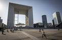 Grande Arche de la Défense: ouvre-toit!