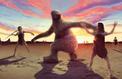 Une chasse au paresseux géant gravée dans la terre