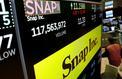 L'action Snap chute de plus de 20% en Bourse