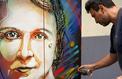 Les «grands hommes» du Panthéon en version street art