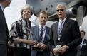 Theresa May tente de rassurer l'industrie aéronautique à Farnborough