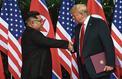 Donald Trump s'accroche àson pari nord-coréen