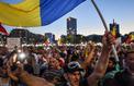 Les Roumains retournent au pays pour manifester