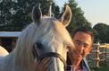 Bruno Retailleau, passionné d'équitation