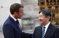 Macron accueille le futur empereur du Japon à Versailles