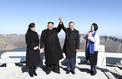 Les deux Corées affichent leur unité sur le Mont Paektu